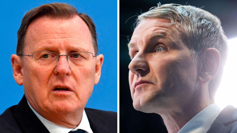 Bodo Ramelow (Die Linke) und Björn Höcke (AfD) sind eben nicht zwei Enden eines Spektrums
