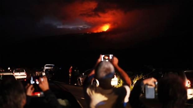 La Réunion: Vulkanausbruch überrascht Touristen auf Urlaubsinsel