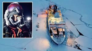 Journalistin Marlene Göring auf der Polarstern-Expedition