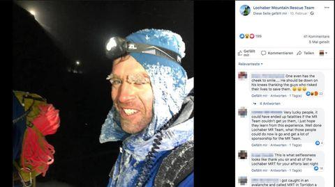 """Ben Nevis in Schottland: """"Absolute Idioten"""": Studenten gehen in Turnschuhen bergsteigen – und überleben nur knapp"""