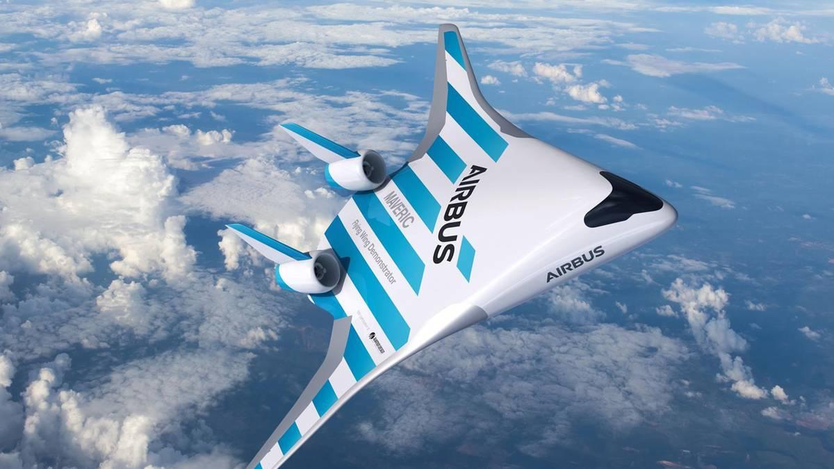 Airbus Maverick: Ist das das Flugzeug der Zukunft?