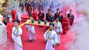 Fest zu Ehren Konfuzius