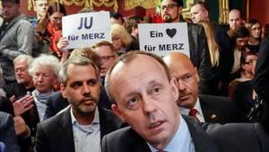 Friedrich Merz beim Forum Mittelstand in Berlin
