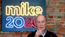 Der demokratische Bewerber für die Präsidenschaftskandidatur Michael Bloomberg