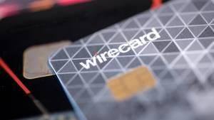 Eine Kreditkarte des Bezahldienstleister Wirecard