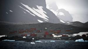 Forschungsstation Esperanza in der Antarktis:neuer Temperaturrekord gemessen. (Archivbild von 2014)