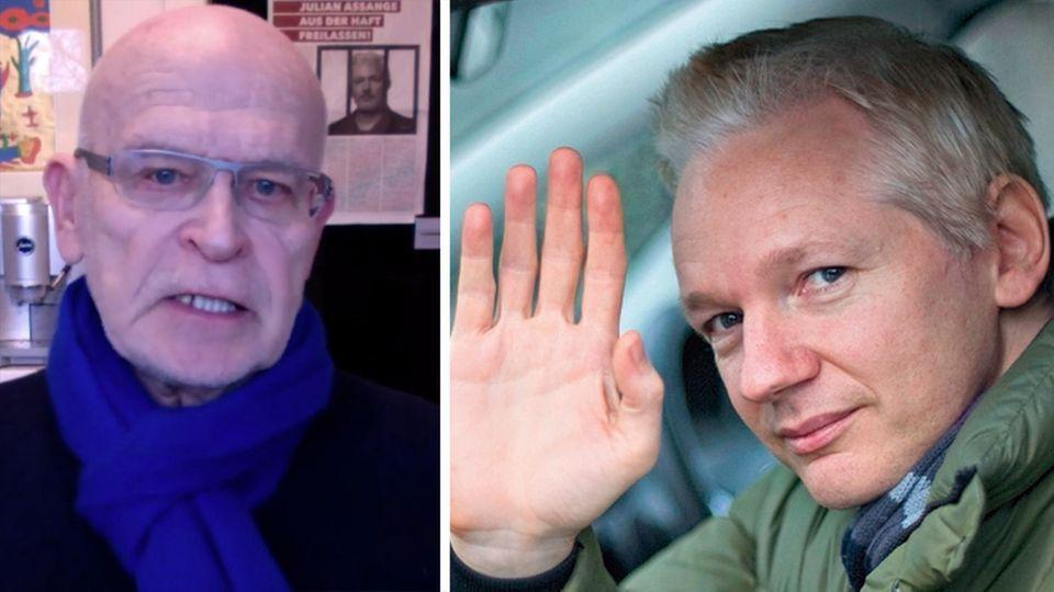 Günter Wallraff kämpft für Julian Assange Freiheit – und für die Pressefreiheit