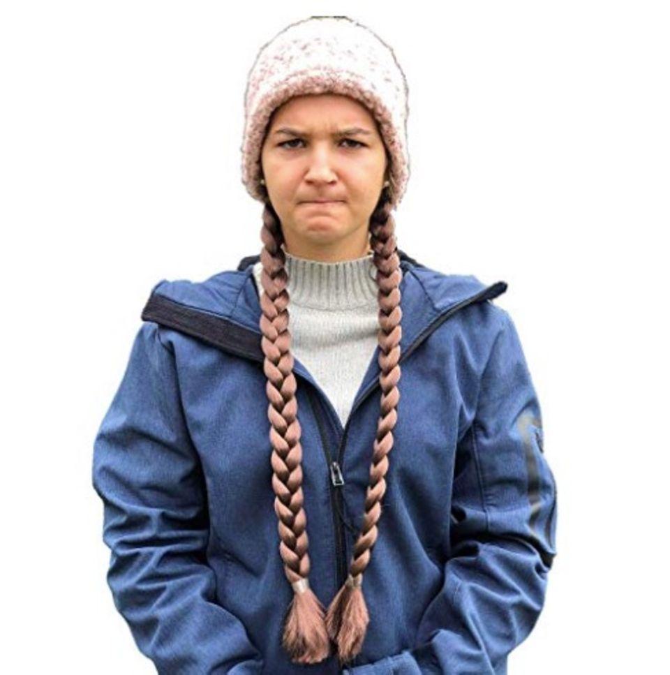 Verkleidung als Greta Thunberg