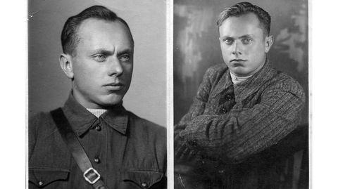 Alexej Botjan im Oktober 1941 (l.) und vor dem Zweiten Weltkrieg (r.)