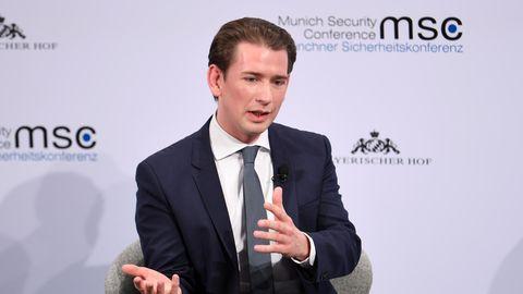 Sebastian Kurz, Bundeskanzler von Österreich