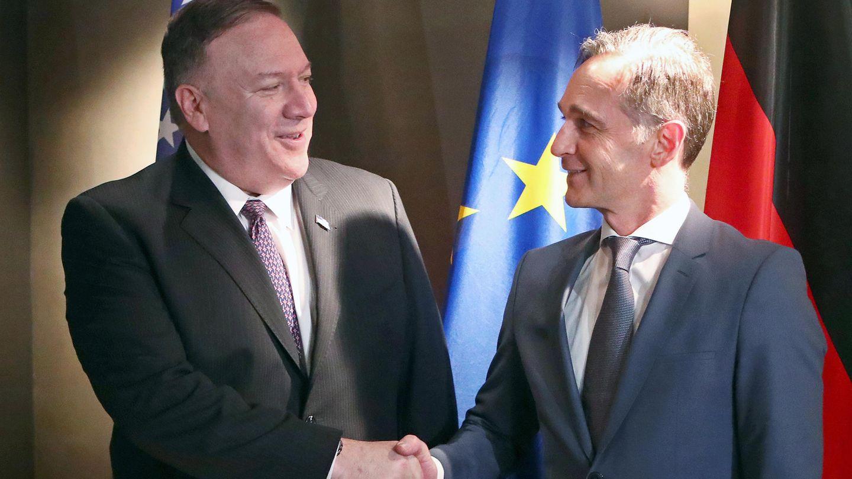 Sicherheitskonferenz Pompeo-Maas