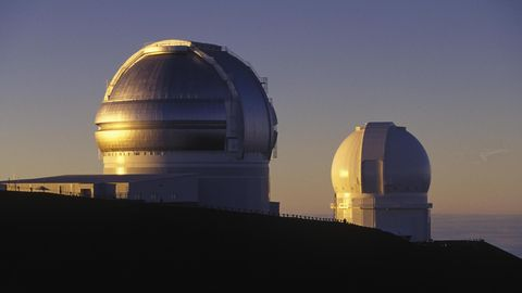 Das Observatorium der NASA auf dem Mauna Kea in Big Island, Hawaii, USA, Nordamerika