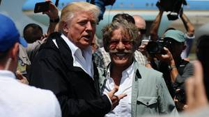 Donald Trump und Geraldo Rivera