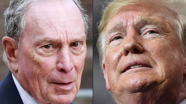 Donald Trump Mike Bloomberg