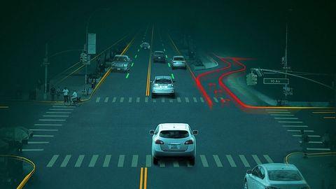 Für das autonome Fahren sind hohe Rechenleistungen nötig