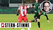 Schalke-Fans gegen Rassismus im Fußball