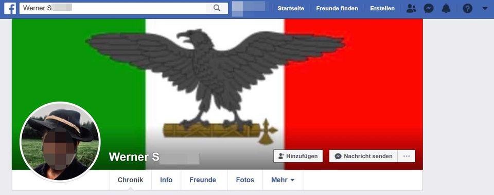 Facebook-Profil von Werner S.