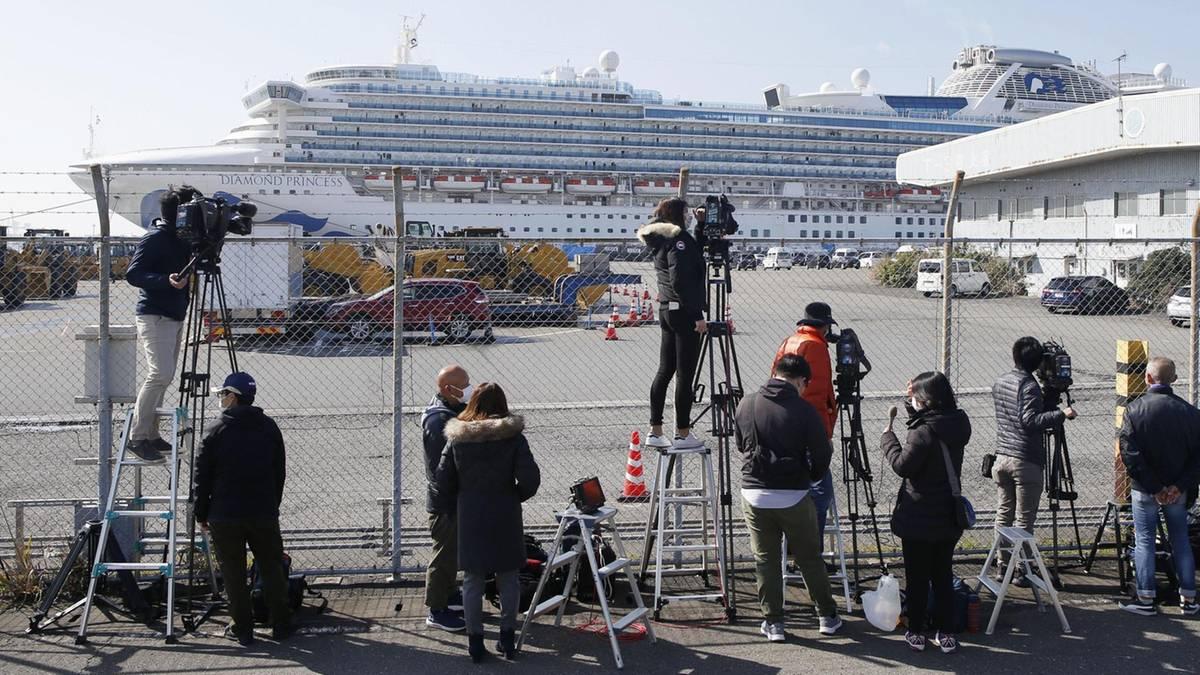 """Deutsche auf Kreuzfahrtschiffen in Asien: """"Eine sehr surreale Situation"""""""