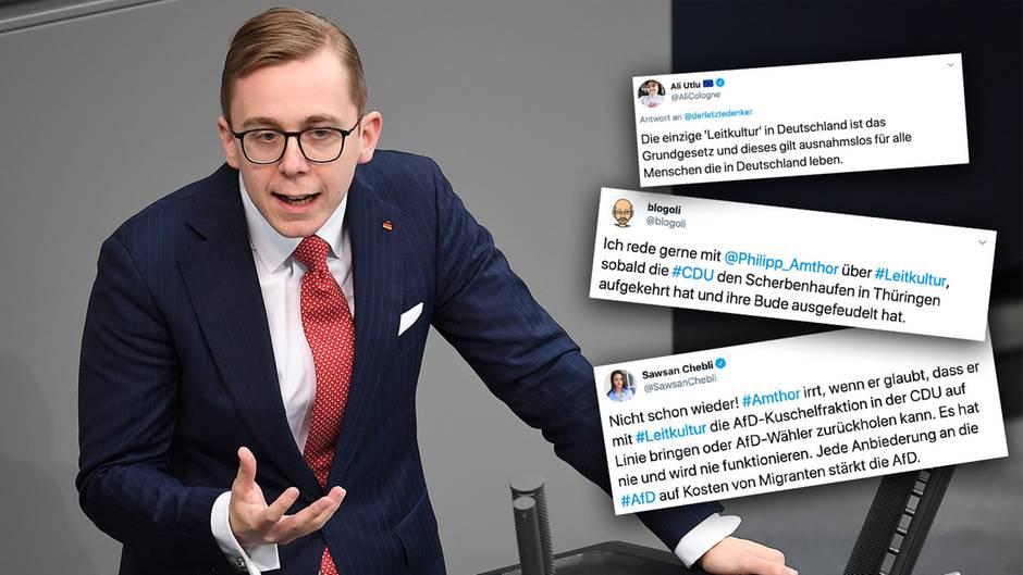 Philipp Amthor bringt die Leitkultur-Debatte zurück.