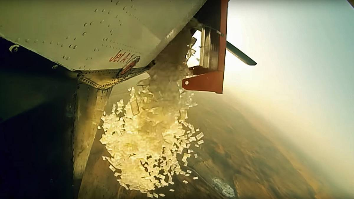 Miltiär-Technik macht Brandbekämpfung aus der Luft sicherer