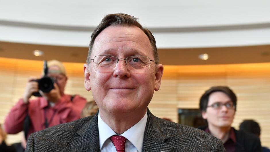 Bodo Ramelow (Die Linke) ist bei seiner Wiederwahl zum Ministerpräsidenten von Thüringen durchgefallen