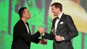 Wladimir Klitschko und Dirk Nowitzki, Laureus Award