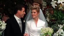 David Armstrong-Jones und Ehefrau Serena