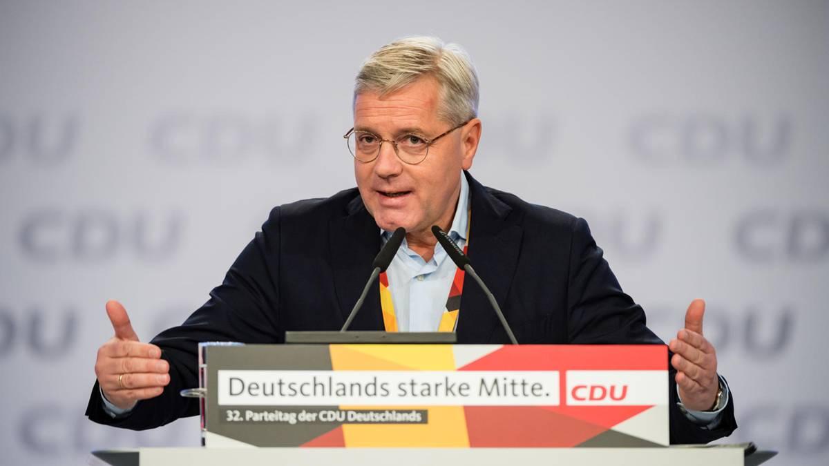 Norbert Röttgen kandidiert für den CDU-Vorsitz
