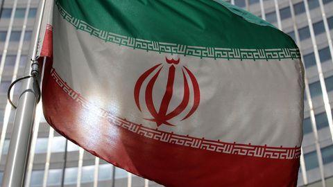 Die Flagge des Iran