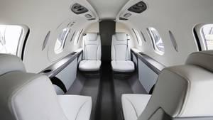 Die Kabine eines Honda-Jets: Seit dem Ausbruch des Coronavirus ist die Nachfrage nach Privatjets enorm gestiegen