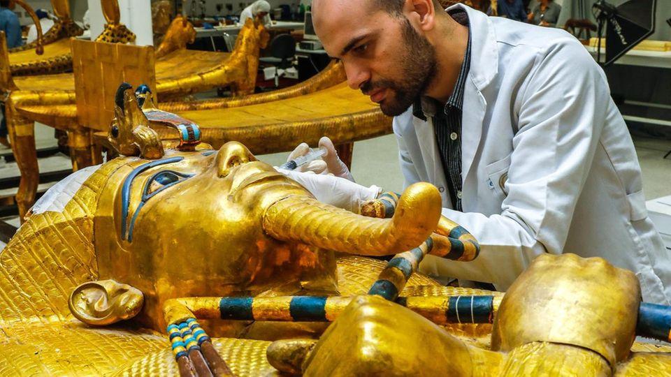 Sarkophag Tutanchamuns