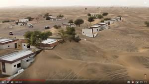 Das verlassene Dorf Al Madam unweit der Grenze zu dem EmiratSchardscha