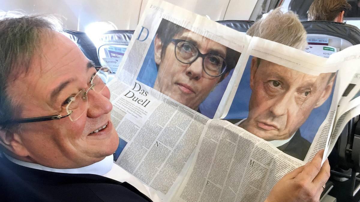 Nach Röttgen-Kandidatur: Laschet pocht weiter auf Teamlösung