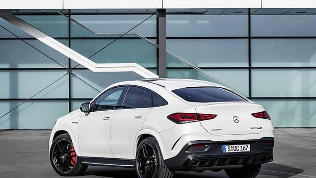 Das Mercedes-AMG GLE 63 S Coupé hat 450 kW / 612 PS