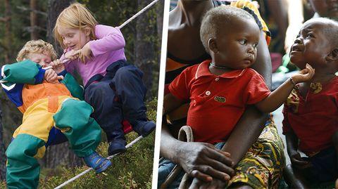 WHO und UNICEF zu Kindern