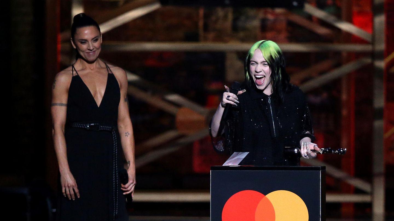 Billie Eilish bei den Brit Awards.
