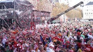 Auftakt zur Karnevalsession in Köln am 11.11.2018