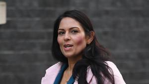 Die britische Innenministerin Priti Patel