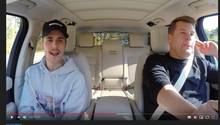 "Justin Bieber bei ""Carpool Karaoke"" mit James Corden"