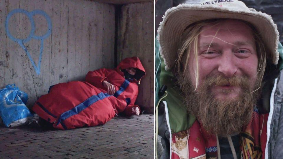 Sheltersuit: Dieser Mantel soll Obdachlosen das Leben leichter machen