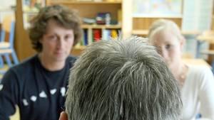 Lehrer und Eltern