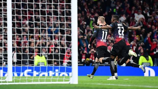 RB Leipzig siegt in London