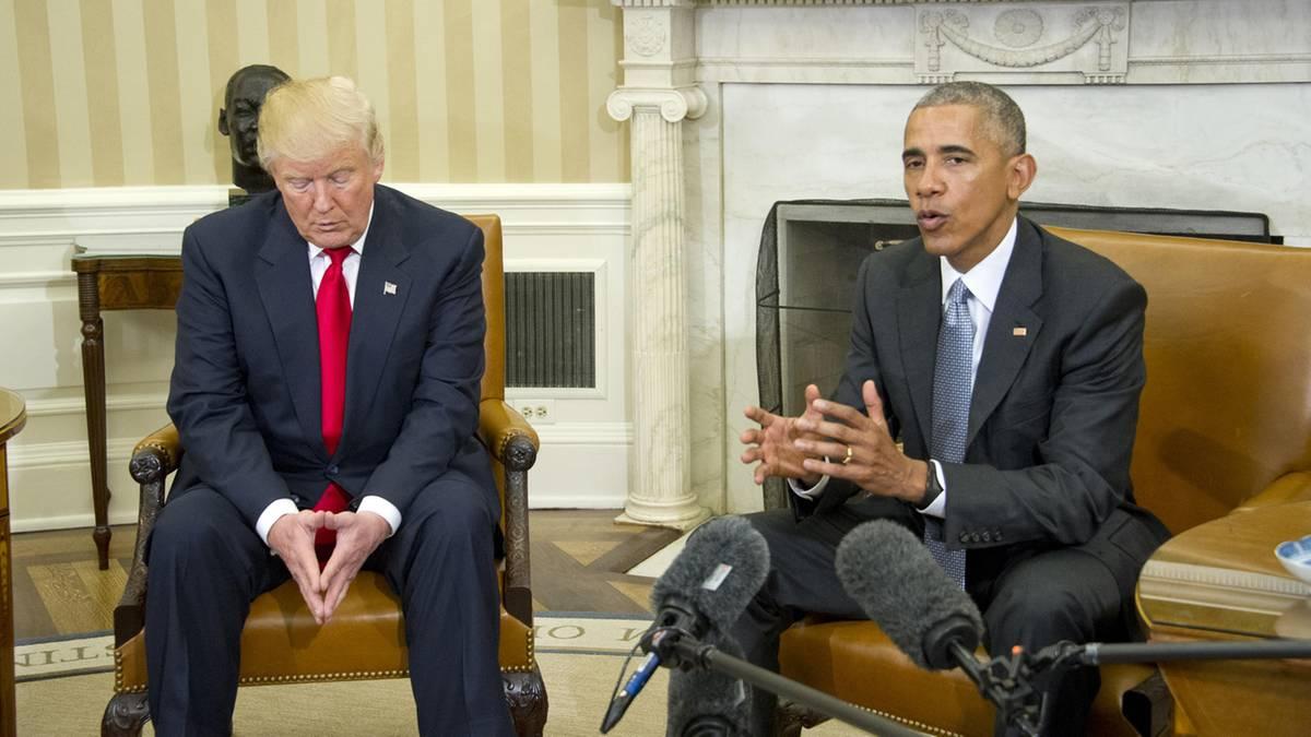 Donald Trump vs. Barack Obama – Twitter-Dauerfeuer und Treffer über Bande