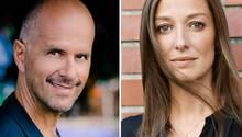 Christoph Maria Herbst und Alexandra Maria Lara bei TV Now