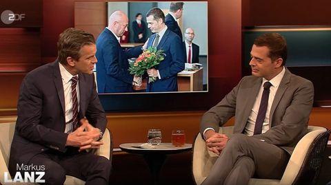 Thüringens CDU-Fraktionschef Mike Mohring bei Markus Lanz im ZDF