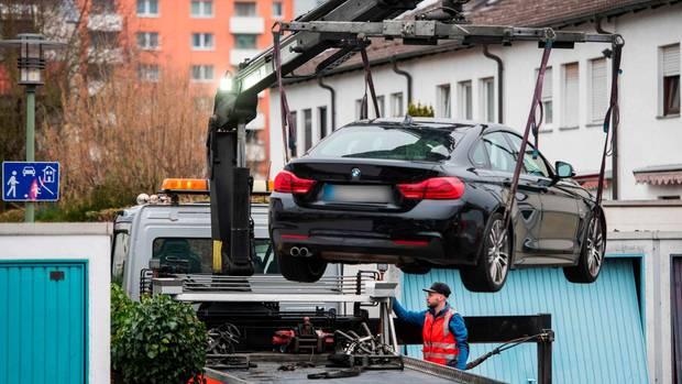 Gewaltverbrechen von Hanau  - Auto des mutmaßlichen Täters