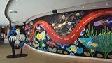 Wandgemälde mit Tierabbildungen