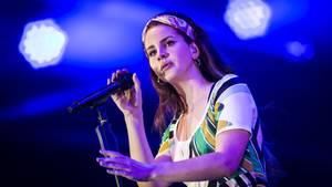 Lana Del Rey bei einem ihrer Konzerte