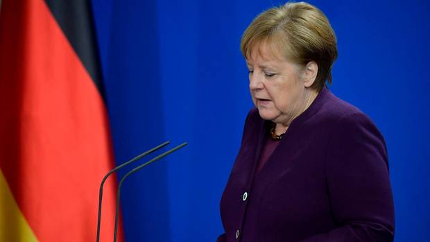 Bundeskanzlerin Angela Merkel drückte den Angehörigen der Opfer von Hanau am Donnerstagmittag ihr Mitgefühl aus