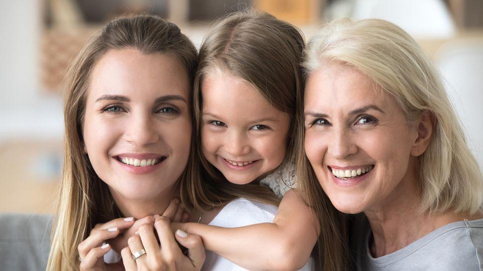 Geschlecht beim Kind: Eine Familie mit zwei Töchtern
